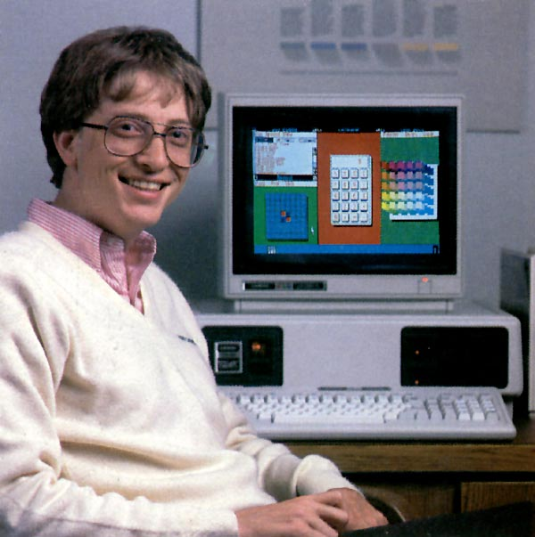 Bill Gates And His Tandy 2000
