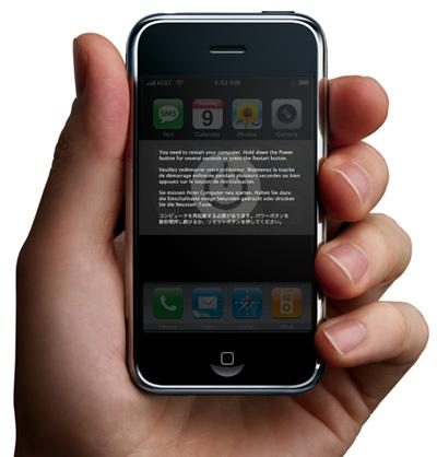 iPhone kernel panic