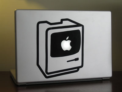 my powerbook, with its new graphics