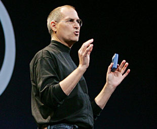 Steve Jobs in January 2006